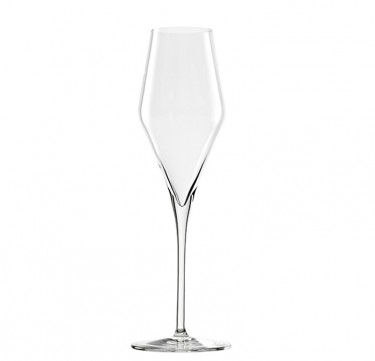 Quatrophil Lead-Free Crystal Champagne Flute Set of 6