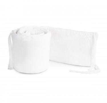 4-Piece Deluxe White Crib Bumper
