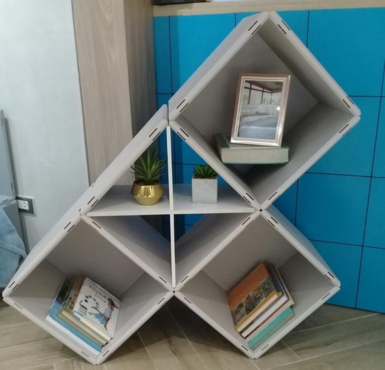 Modular Cabinet Set 16 - Monochrome