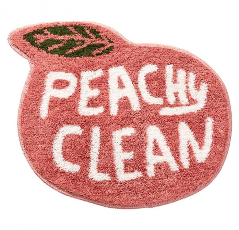 Peachy Clean Bath Mat