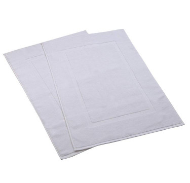 White Hotel Bath Mat