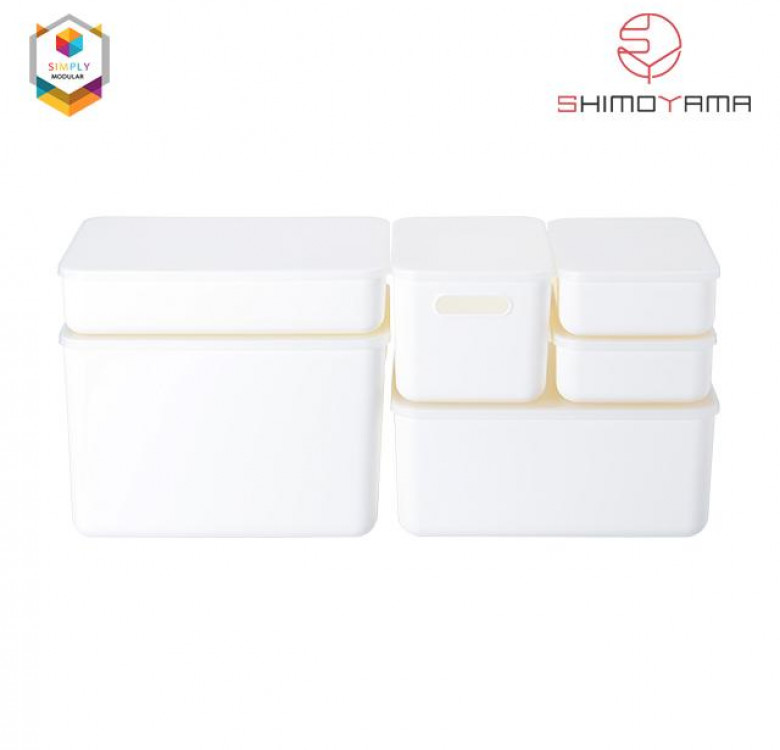 Shimoyama Handled Storage Box with Lid (Large)