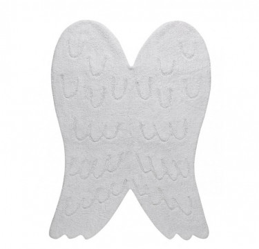 Wings Silhouette Washable Rug