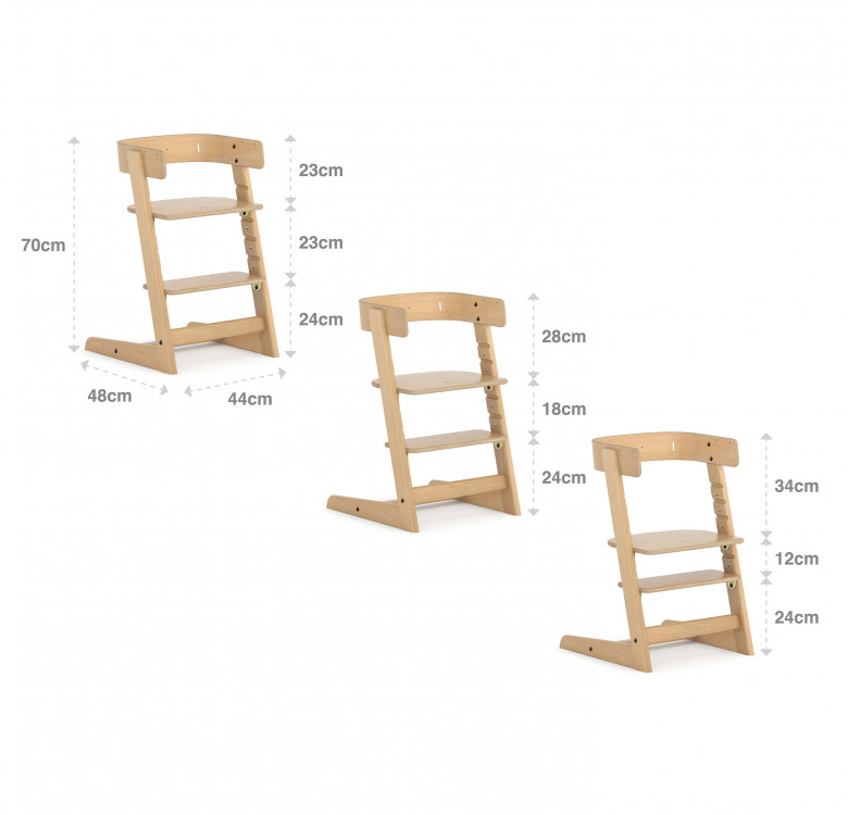 Adjustable Tidy High Chair