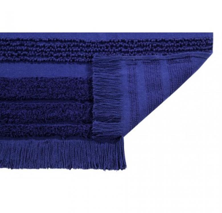 Air Alaska Blue Washable Rug (Large)