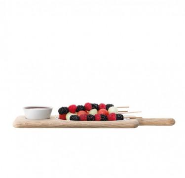 43.5cm Paddle Serving Set & Oak Paddle