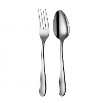 Florence Serving Spoon & Fork Set