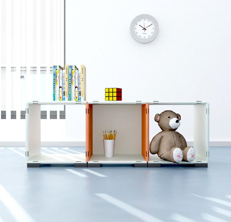 Modular Cabinet Set 11 - Monochrome