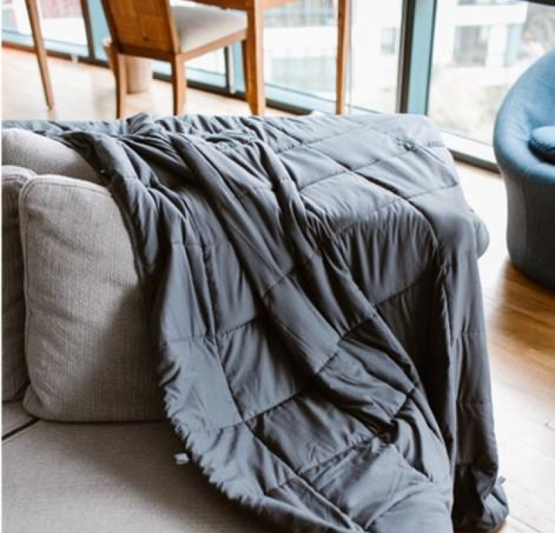Tranquility Weighted Blanket with Removable Bamboo Cover