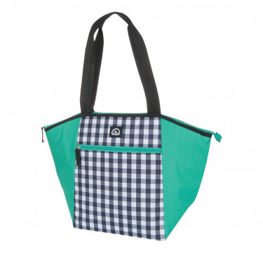 Gingham Everyday Tote