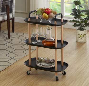 3-Tier Rectangle Utility Cart