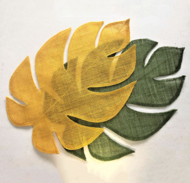 Tropicalism Leaf Placemats