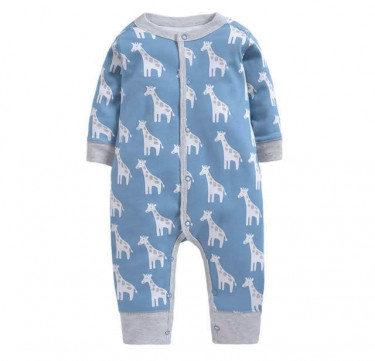 Geoffrey Giraffe Deluxe Snap-Up Coverall