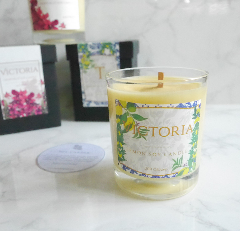 Customized Lavender Soy Candle