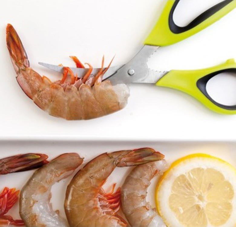 Prawn-Peeling Scissors