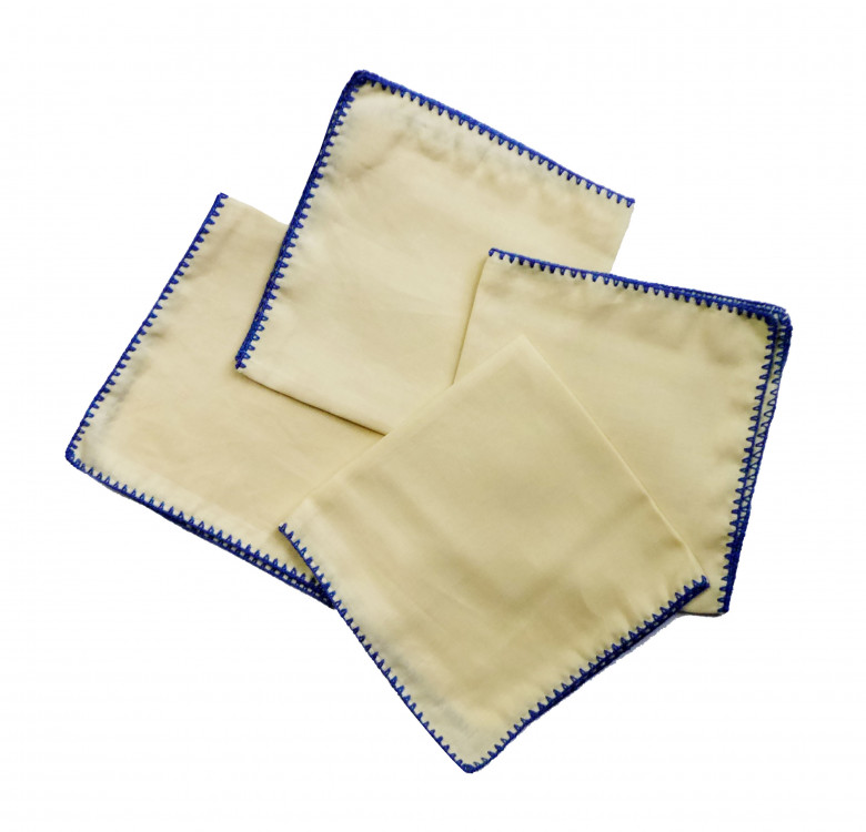 Raffia Linen Placemat & Napkin Set for 4