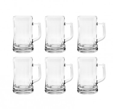 Munich Beer Mug 12 1/2 Oz. Set of 6