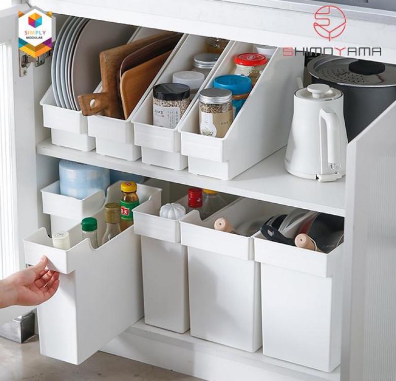 Shimoyama Kitchen Storage Box with Wheel
