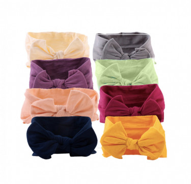 Soft Elastic Little Knot Headband