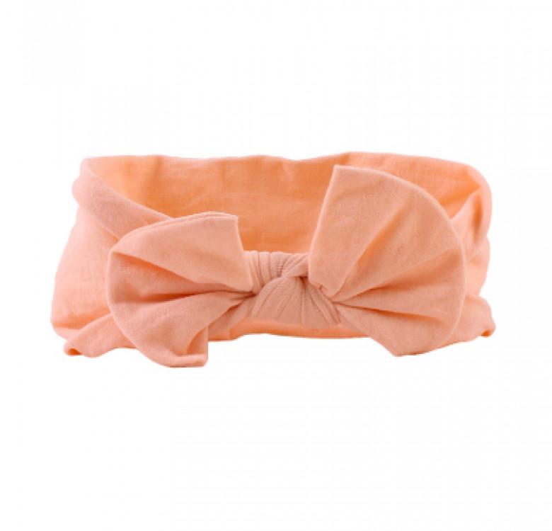 Soft Elastic Little Knot Headband