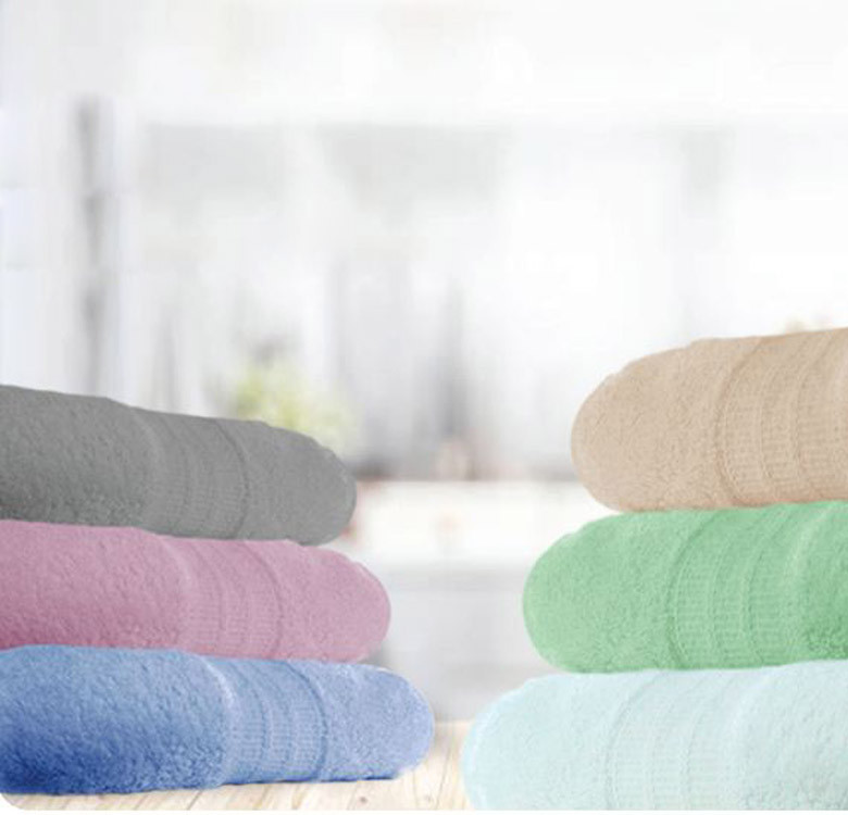 Egyptian Cotton Series 249 Bath Towels for 2
