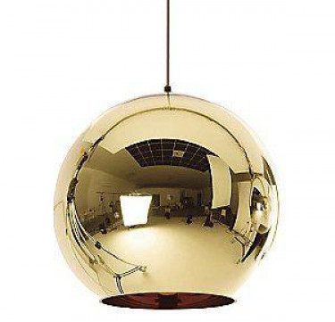 Luna Gold Glass Pendant Light