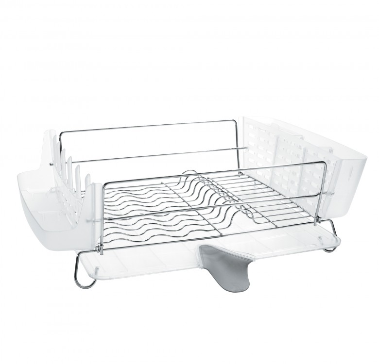 Oxo Stainless Steel Trash Can: OXO: Folding Stainless Steel Dish Rack