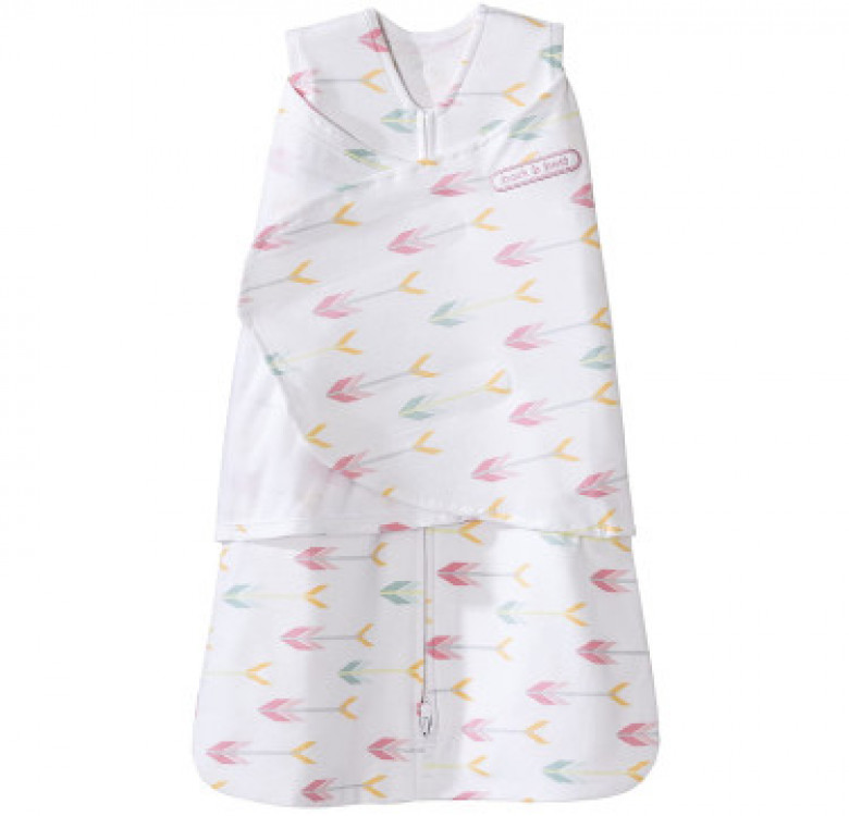 Swaddle Pink Arrows