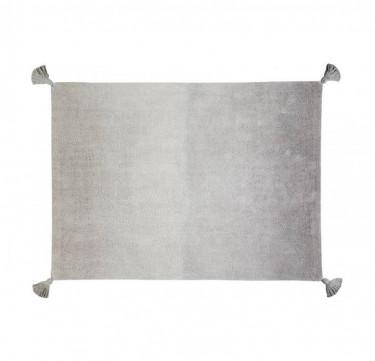 Ombre Dark Grey-Grey Washable Rug