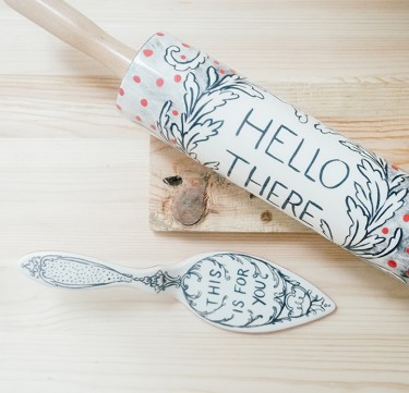 Storybook Illustration Rolling Pin