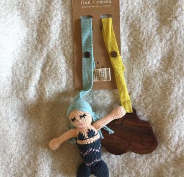 Finn + Emma Mermaid Collection 2-Piece Stroller Set - Penelope & Cloud