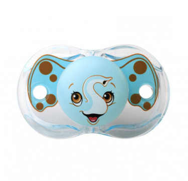 Keep-it-Klean Pacifier - Elfy Elephant