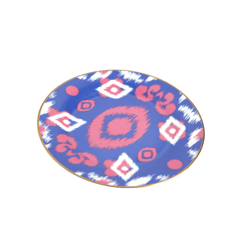 Ikat Dinner Plates  sc 1 st  Why Use Knots and Pans & Aranáz Tú: Ikat Dinner Plates