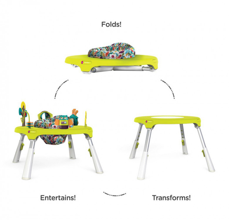 Portaplay Forest Friends with 2 Stools