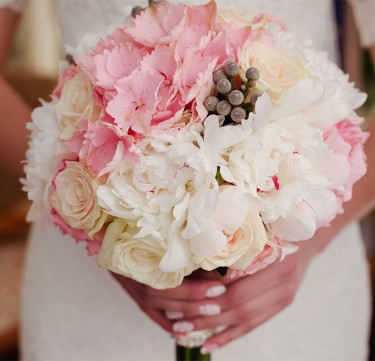 Bridal Bouquet and Entourage Flowers