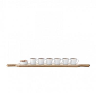 74cm Paddle Espresso Set & Oak Paddle