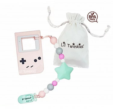 Teether with Clip-on (Gameboy)