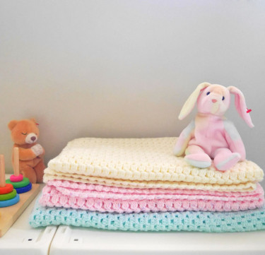 Plain Baby Blanket