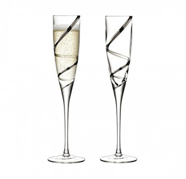 Malika Grand Champagne Flute Set of 2