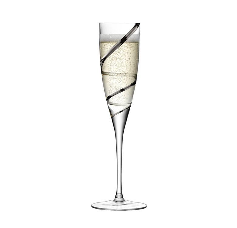 Malika Grand Champagne Flute Set of 2