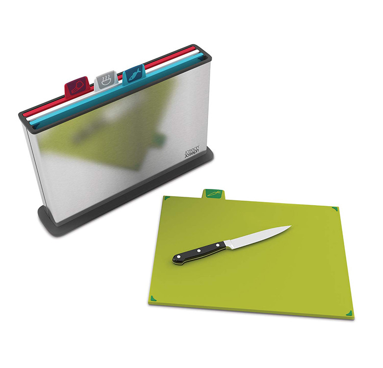 Index™ Steel Chopping Board Set
