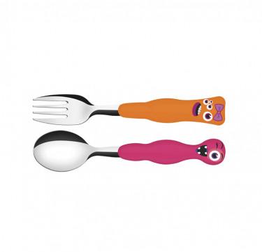 Monster Kids 2-Piece Cutlery Set