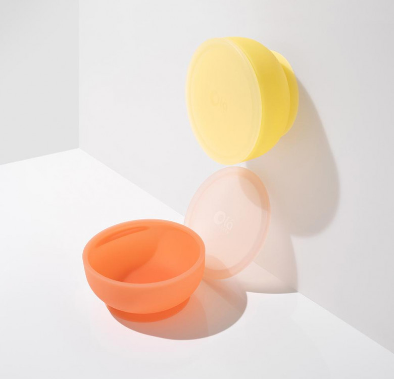 Silicone Suction Bowl with Lid