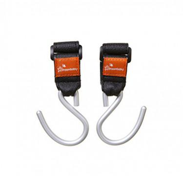 Strollerbuddy® EZY-Fit Stroller Hooks 2-Pack