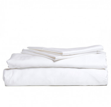 4-Piece Bamboo Luxury Sheet Set (White)