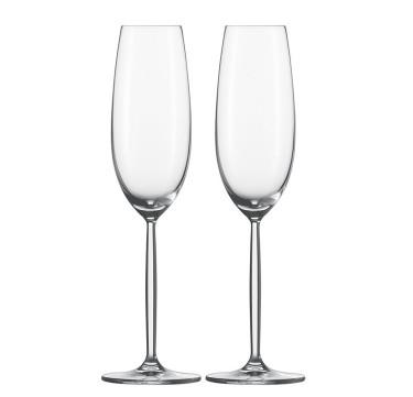 Diva Sparkling Wine Glass Set of 2