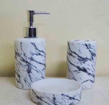 Marble Ceramic Set