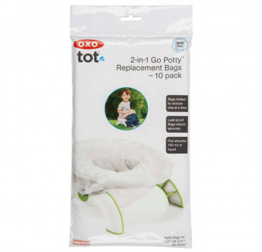 Go Potty Replacement Bags 10-Pack