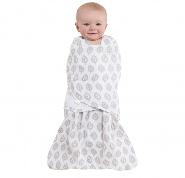 Swaddle Muslin Gray Tree
