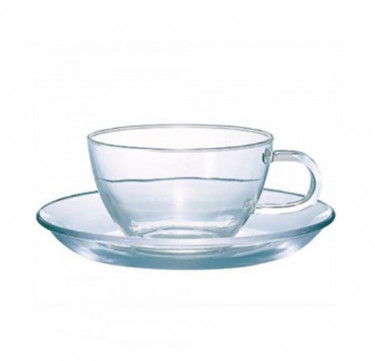 Heatproof Tea Cup and Saucer